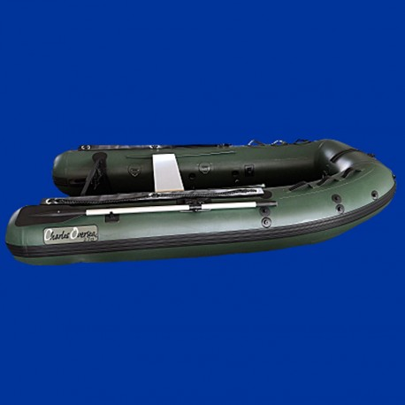 Bateau 2.7ci charles oversea vert fond gonflable
