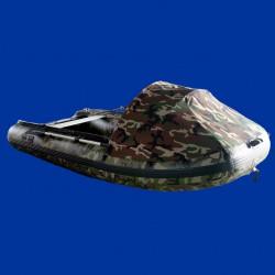 Bateau pneumatique Charles Oversea d'exposition camouflage 3.3cc