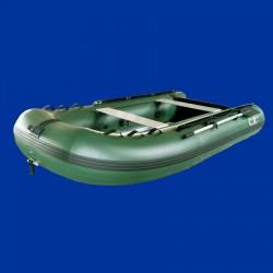 Bateau pneumatique 3.3ca kaki vert Charles Oversea
