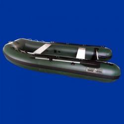 Bateau pneumatique vert Charles Oversea 3.0ca