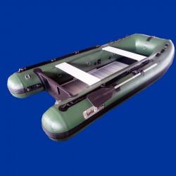 Bateau pneumatique vert Charles Oversea 3.0ca+ pvc 1.2mm