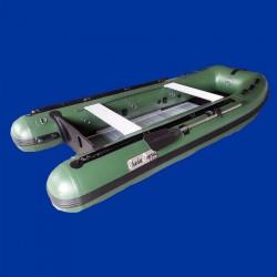 Bateau pneumatique 3.3ca kaki vert Charles Oversea pvc 1.2mm
