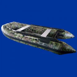 Bateau pneumatique 3.3cc Charles Oversea camouflage pvc: 1.2mm