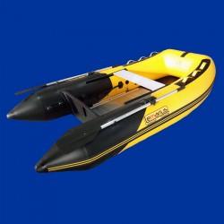 Bateau pneumatique jaune et noir Lemarius Mistral 270