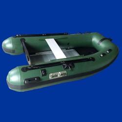 Bateau pneumatique vert Charles Oversea 2.4ca