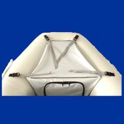Sac protection de proue bateau pneumatique